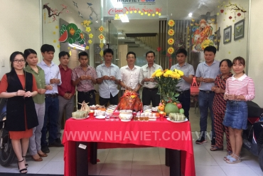 NHAVIETCONS TO BEGIN THE SPRING OF THE LUNAR NEW YEAR MAU TUAT 2018