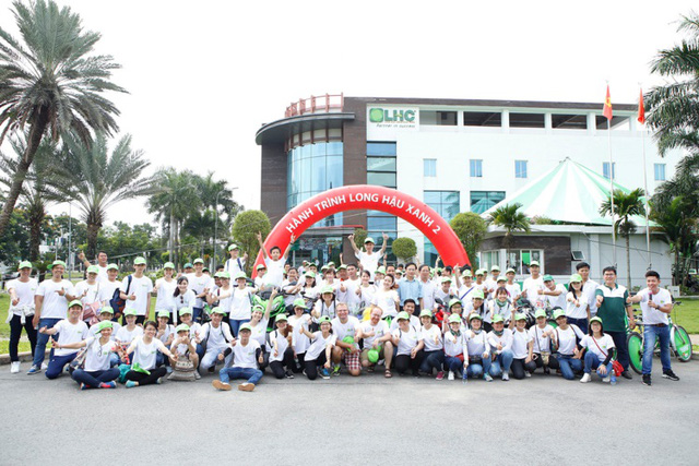Long Hau Greeen Cycling Tour 2