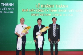 HANDOVER CEREMONY OF ISHISEI VIETNAM PROJECT