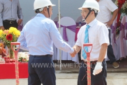 GROUND BREAKING CEREMONEY OF T&S FACTORY (PHASE 2) AT LONG HAU IP