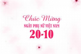 HAPPY VIETNAMESE WOMEN'S DAY 20.10.2017