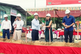 GROUND BREAKING CEREMONEY OF DAT DAI THANH PLASTIC PACKAGING FACTORY