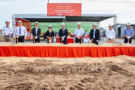 GROUND BREAKING CEREMONEY OF ISHISEI VIETNAM PROJECT