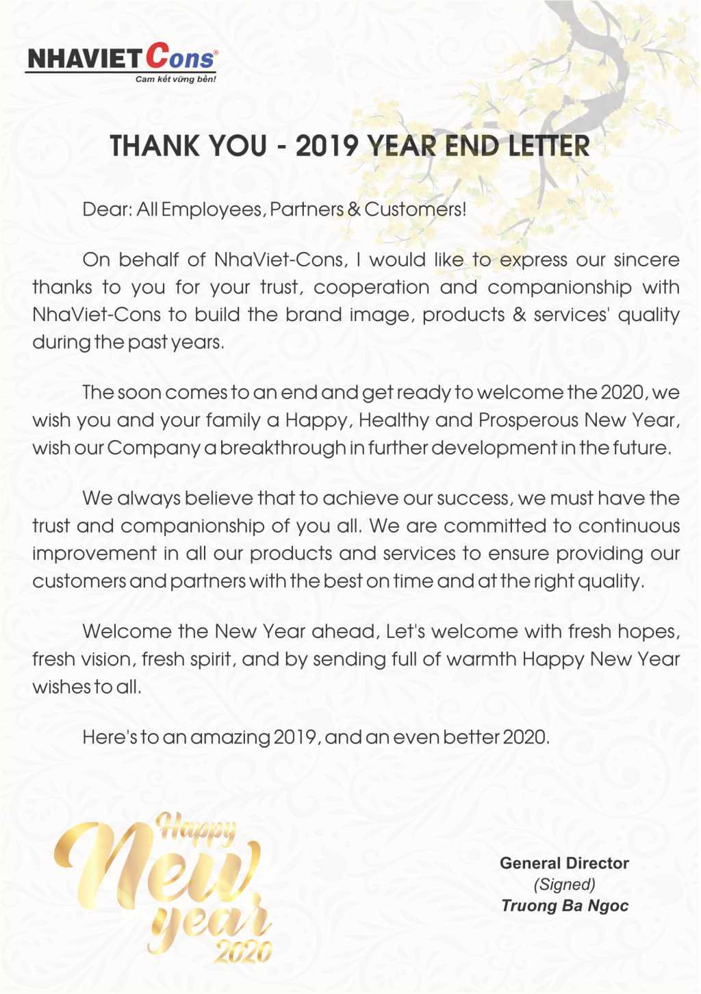 Ending Letter With Thank You from nhaviet.com.vn